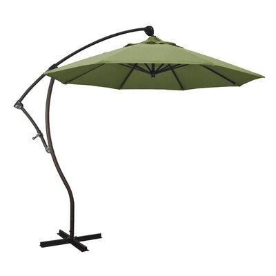 April 9 Cantilever Umbrella Fabric: Sunbrella - Spectrum Cilantro