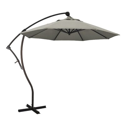 April 9 Cantilever Umbrella Fabric: Sunbrella - Spectrum Dove