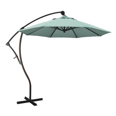 April 9 Cantilever Umbrella Fabric: Sunbrella - Spectrum Mist