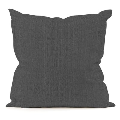 James Throw Pillow Color: Newsprint