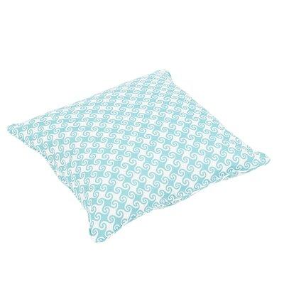Oliver Waves Indoor/Outdoor Piped Floor Pillow