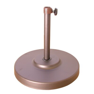 April Free Standing Umbrella Base Finish: Champagne