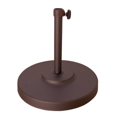 April Free Standing Umbrella Base Finish: Bronze