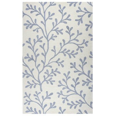 Maryland Hand-Tufted Ivory Indoor/Outdoor Area Rug Size: Rectangle 5 x 76