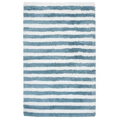 Laoise Hand-Tufted Aqua Indoor/Outdoor Area Rug Size: Rectangle 5 x 8
