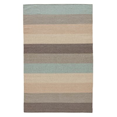 Xenia�Hand-Woven Beige/Gray Area Rug Rug Size: Rectangle 9 x 12