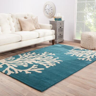 Granger Wool H Tufted Blue &  Area Rug Rug Size: Rectangle 8 x 11