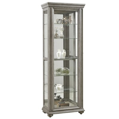 Davie Sliding Door Standard Curio Cabinet