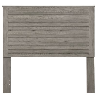 Gavin Weathered Horizontal Overlay Wood Queen Panel Headboard