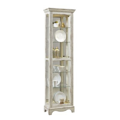 Davie Weathered Standard Curio Cabinet