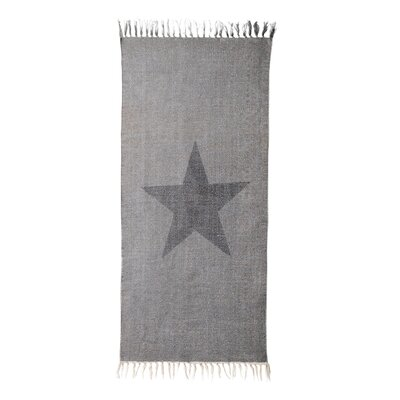 Heritage Pines Fringe Light Gray Area Rug