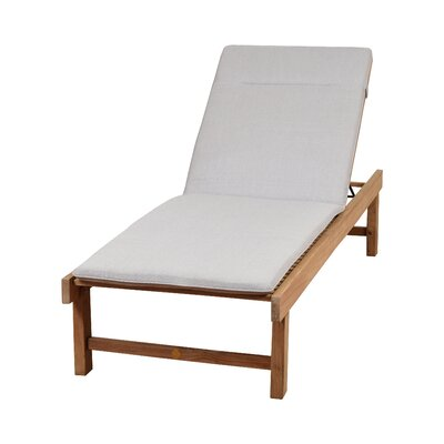 Elsmere Chaise Lounge with Light Grey Cushion
