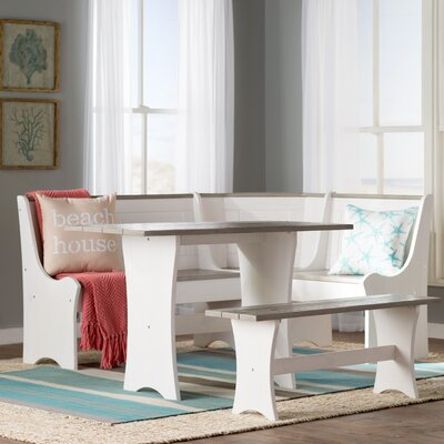 Monroe 3 Piece Nook Dining Set