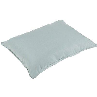Columbus Indoor/Outdoor Floor Piped Lumbar Pillow