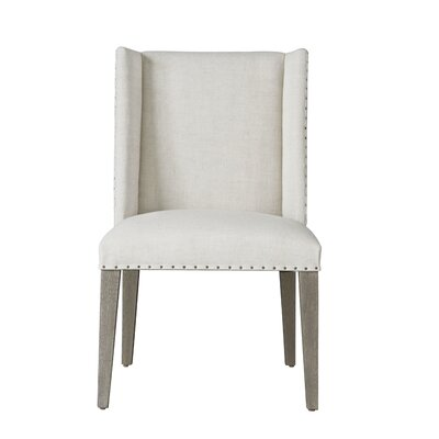Cambria Parsons Chair with Solid Wood Legs (Set of 2)