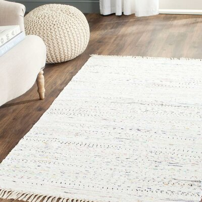 Penrock Way White Area Rug