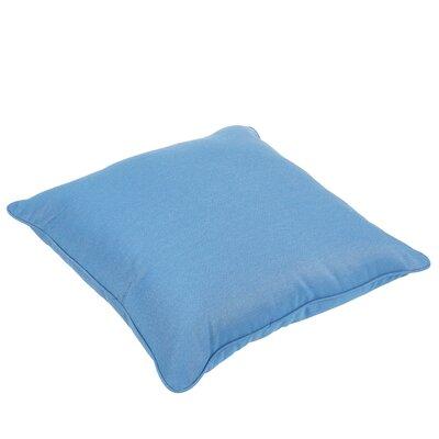Dixon Piped Indoor/Outdoor Sunbrella Floor Pillow