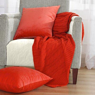 Falkirk Super 18 Throw Blanket Color: Fiesta