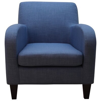 Paddington Solid Lounge Chair Upholstery: Blue Coast