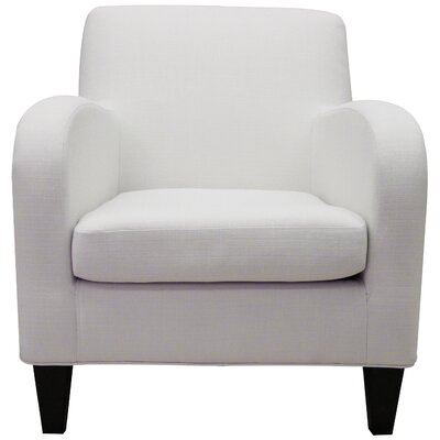 Shetland Lounge Chair Color: Snow