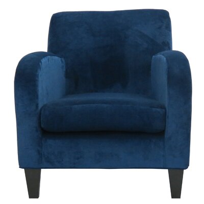 Paddington Solid Club Chair Upholstery: Blue