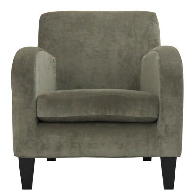 Paddington Solid Club Chair Color: Silver