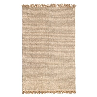 Paddington Hand-Woven Tan/Ivory Area Rug
