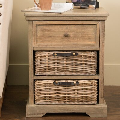 Cleveland End Table Finish: Natural