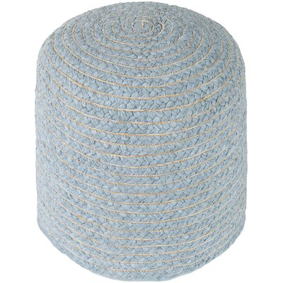 Chelmsford Pouf Ottoman Upholstery: Gray