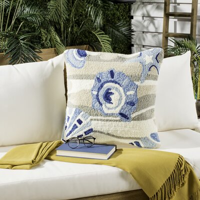 Tulare Beyond The Sea Decorative Indoor/Outdoor Throw Pillow Color: Marine