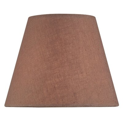 5 Linen Empire Candelabra Shade Color: Burgundy