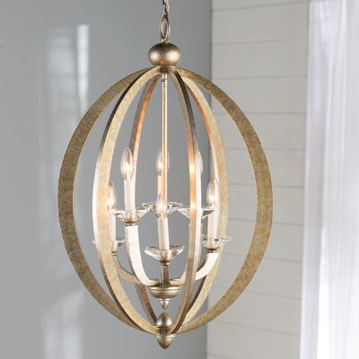 Georgetown 6-Light Foyer Pendant