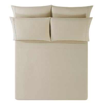 Breanna Sheet Set Size: Californina King, Color: Khaki