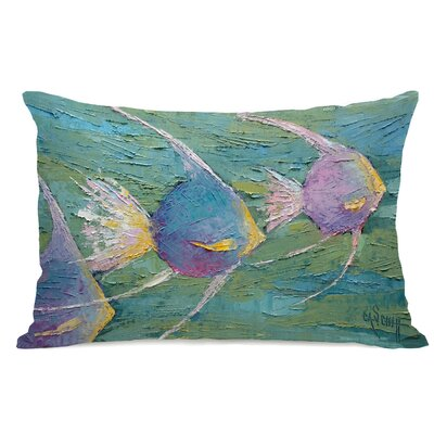 Eastport Angels on Parade Lumbar Pillow