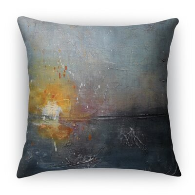 Susann Swiftly Sinking Throw Pillow Size: 16 H x 16 W x 3 D