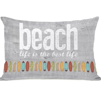 Maitland Beach Life Lumbar Pillow