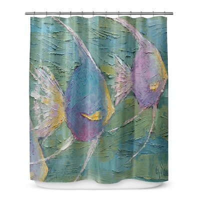 Eastport Angels on Parade Shower Curtain