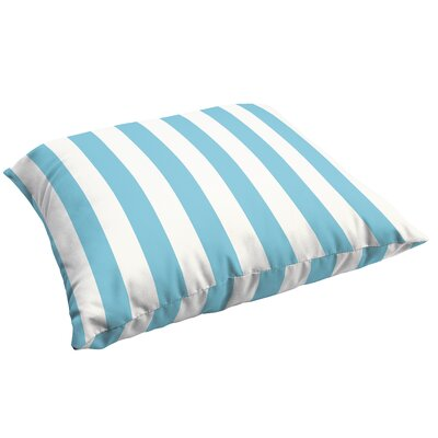 Fitzsimmons Stripe Indoor/Outdoor Floor Pillow