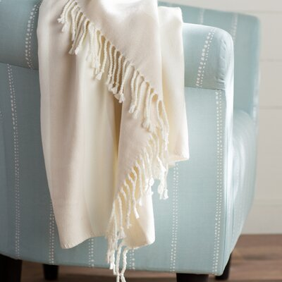 Rudloff Stripe Throw Color: Taupe