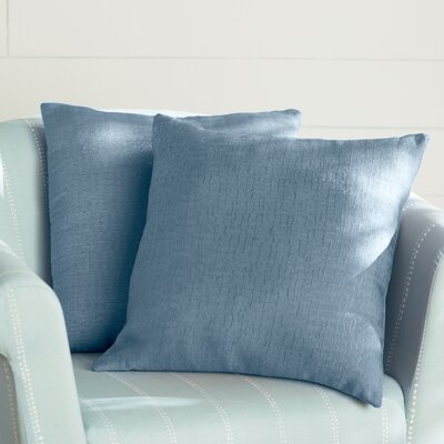 Milbridge Decorative Throw Pillow Color: Blue