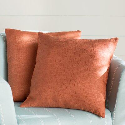 Milbridge Decorative Throw Pillow Color: Spice