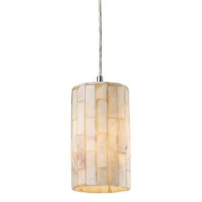 Raynham 1-Light Drum Pendant Bulb Type: LED