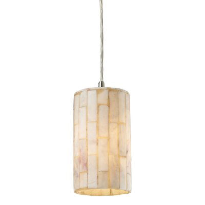 Raynham 1-Light Drum Pendant Bulb Type: Halogen