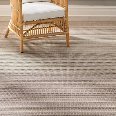 Tyson Beige Indoor/Outdoor Area Rug Rug Size: 39 x 55