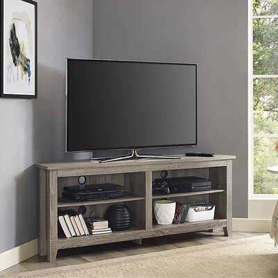 Sunbury 58 TV Stand Color: Driftwood