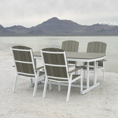 Mirren Outdoor 5 Piece Dining Set