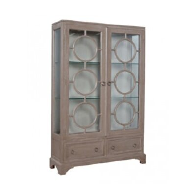 Bridgeview Standard China Cabinet Color: Manor Taupe Wash/Manor Porch Rail