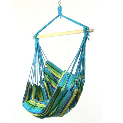 Svenn Cotton and Polyester Chair Hammock Color: Ocean Breeze