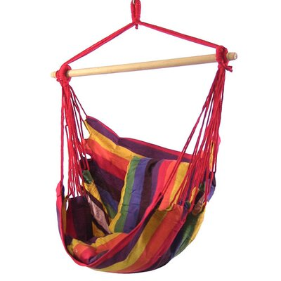 Svenn Cotton and Polyester Chair Hammock Color: Sunset