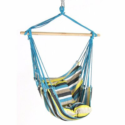 Svenn Cotton and Polyester Chair Hammock Color: Ocean View